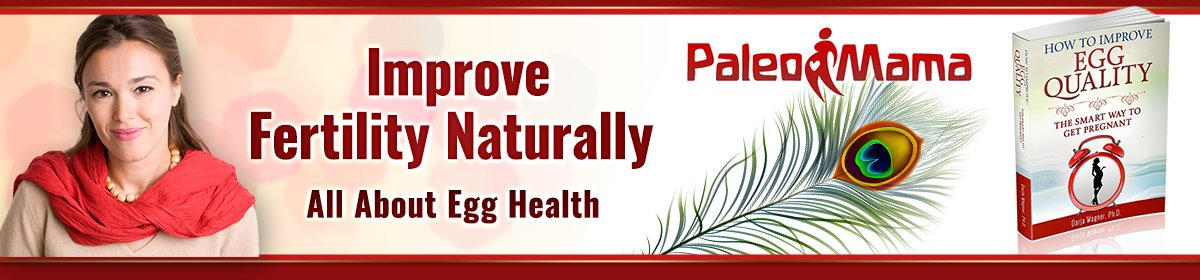Improve fertility naturally Logo